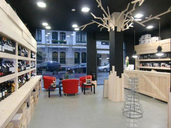Dolcecity bilbao - Decoracion de vinotecas ...
