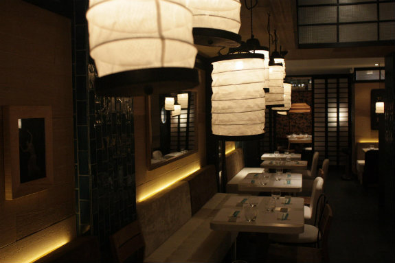 Dolcecity bilbao - Lamparas estilo japones ...