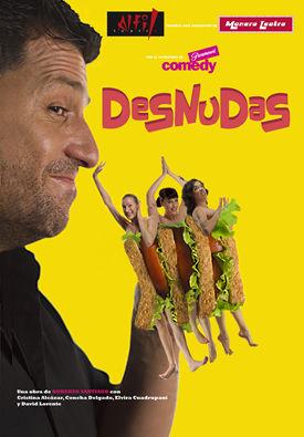 Desnudas De Roberto Santiago En El Teatro Alfil Dolcecitycom