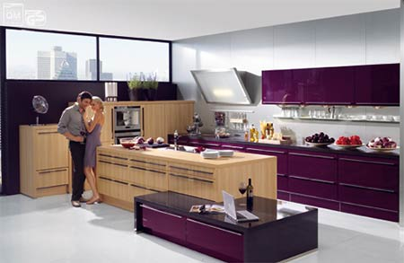 The singular kitchen en dolcecity for Colores para pintar una cocina comedor