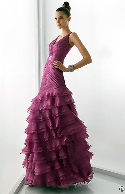Precios de vestidos de fiesta de rosa clara