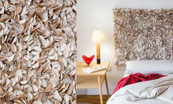 la coleccin testa consiste en una serie de cabeceros para camas hechos con el mismo criterio que las alfombras pero para mi gusto son todava ms