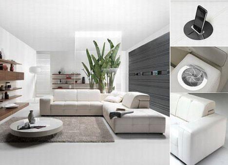 Sofas de diseño italiano
