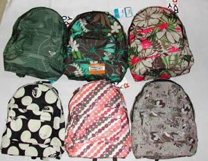 Coleccion mochilas Roxy 2008