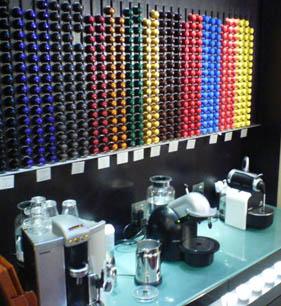 Diferentes variedades de cápsulas Nespresso