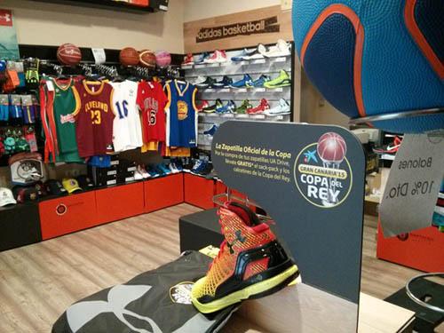 Basket Total Srore, la tienda para profesionales y